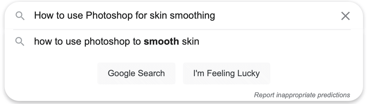 Google Suggestion for Search Keyword