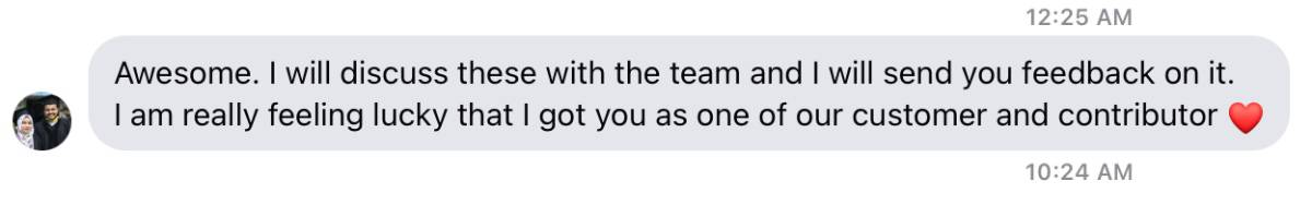 FluentCRM CEO Response