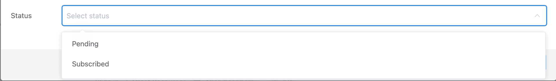 FluentCRM Web Hook Status