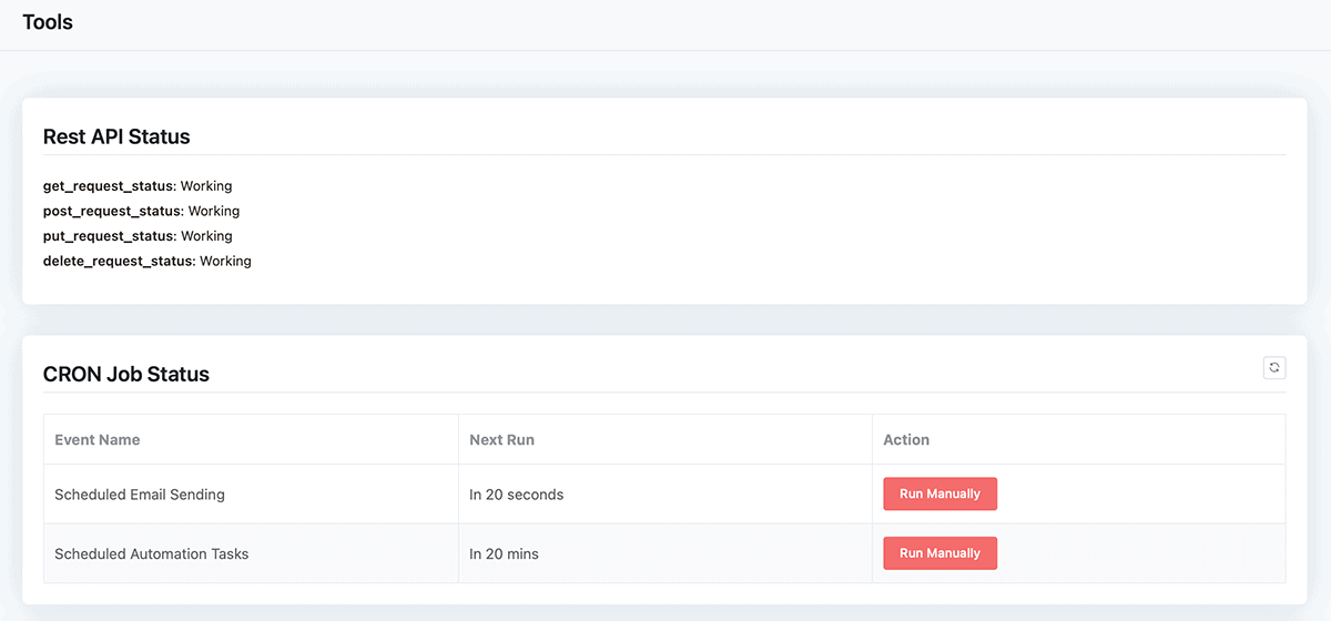 FluentCRM Tools