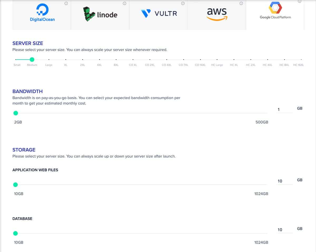 Google Cloud configuration